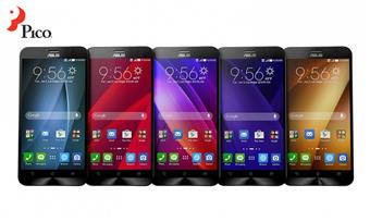 Asus ZenFone 2 trình làng: 5.5 inch Full-HD, RAM 4GB, camera 13/5MP, CPU Intel 64-bit