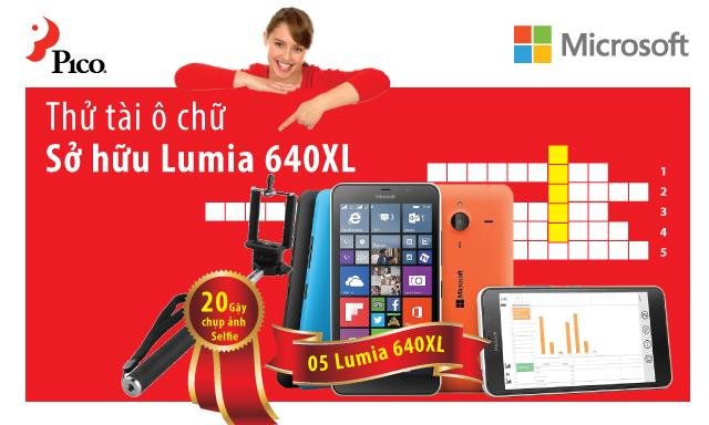 Thử tài ô chữ - Sở hữu Lumia 640XL