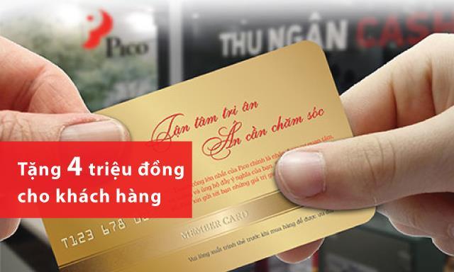 PICO tặng mỗi khách hàng 4 triệu đồng nhân dịp đại lễ