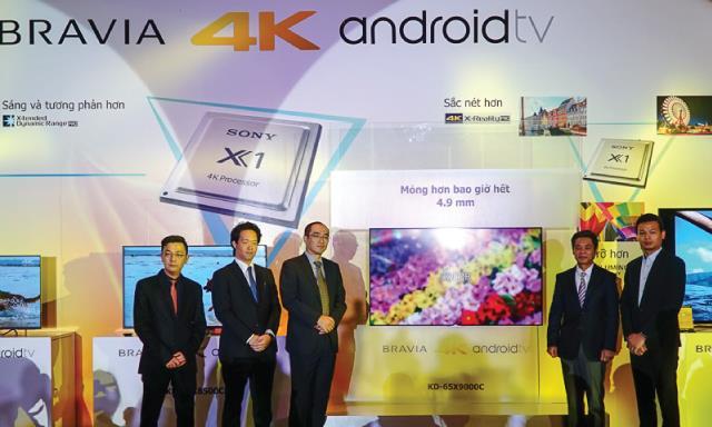 Sony ra mắt BRAVIA 2015: 5 mẫu TV 4K, Android TV