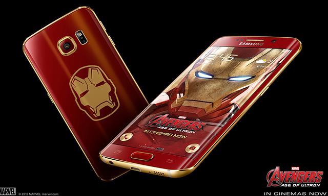 Mở hộp Samsung Galaxy S6 Edge phiên bản Iron Man