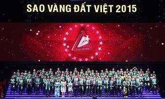 """PICO vinh dự đón nhận giải thưởng """"Sao Vàng đất Việt"""" 2015"""