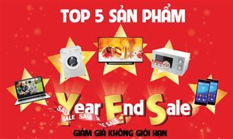 Top 5 sản phẩm đáng mua nhất dịp cuối năm