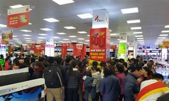 29/04: Mở cửa bán hàng đại siêu thị Pico Hải Phòng