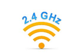 Kết nối không dây 2.4GHz tốc độ cao