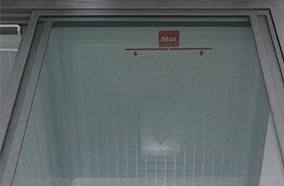 Cửa kiếng trượt bên trong và nắp dở bên ngoài