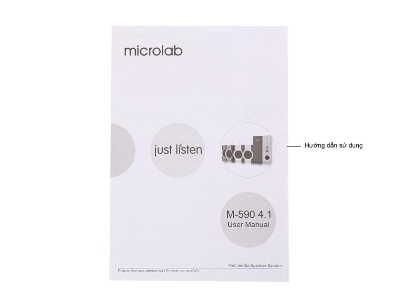 Loa Microlab M590 2.1
