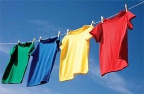 Quần áo sạch sẽ với tốc độ quay vắt
