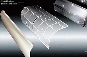 Lưới lọc không khí Nano Titanium Wasabi