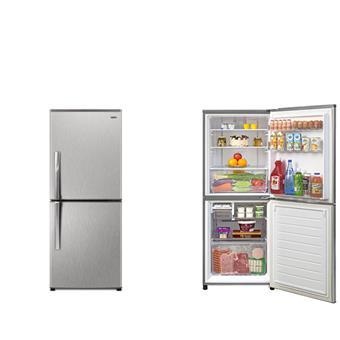 Tủ lạnh Sanyo SRP285RBST GrossNet 284L252L màu thép không gỉ