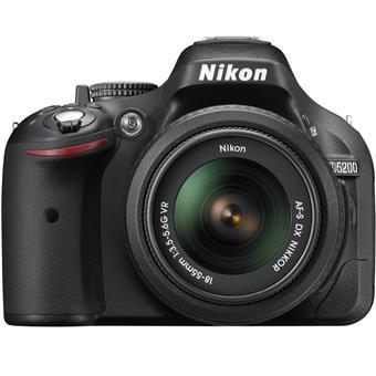 Máy ảnh Nikon  D5200 24.1 MP lens AF-S DX 18-55mm