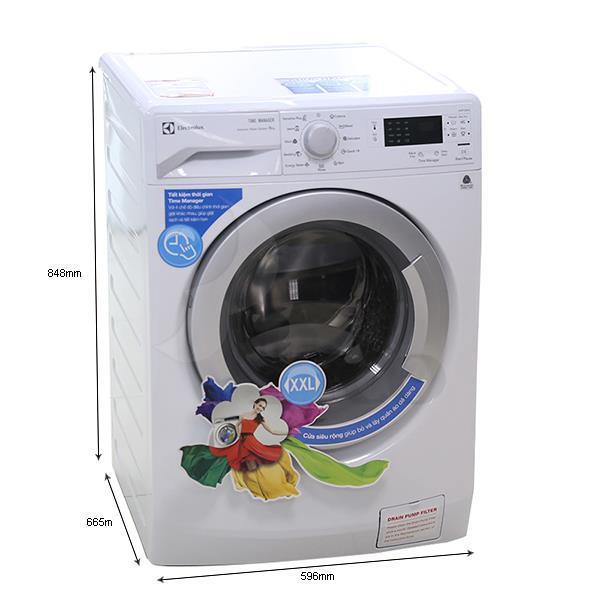 Kích thước - Máy giặt ELECTROLUX EWF10842 - 8.0kg Lồng ngang