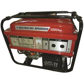 Máy phát điện NGŨ PHÚC NP6500GXE động cơ HONDA 5.0 - 5.5 kva, đề điện