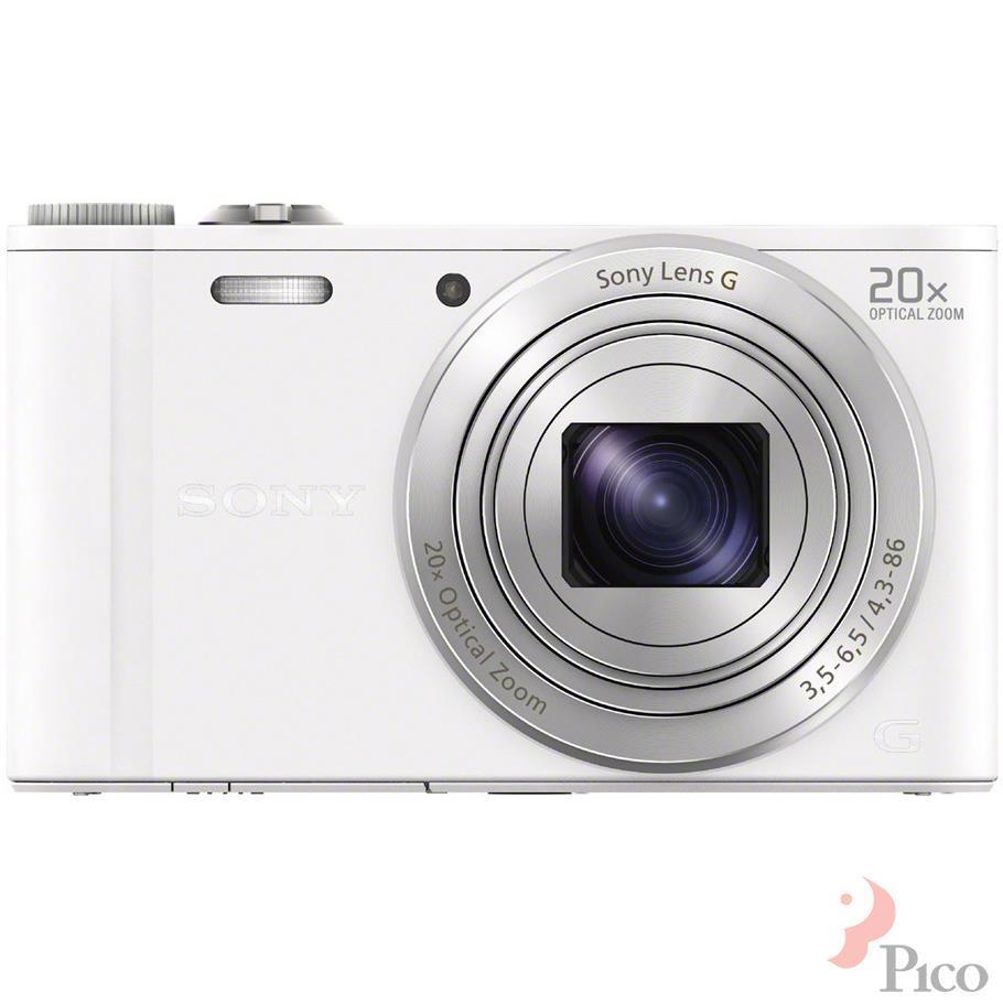 Máy ảnh Sony DSCWX300 18.2MP màu trắng