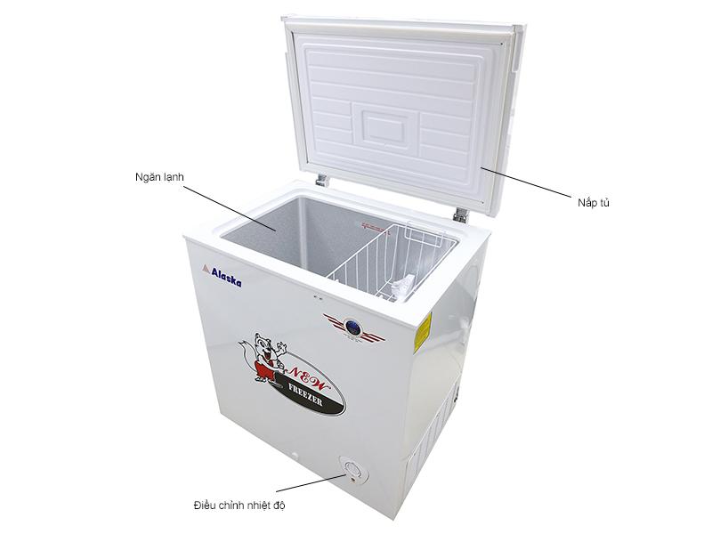 Tủ đông ALASKA BD200- 200L,1 chế độ