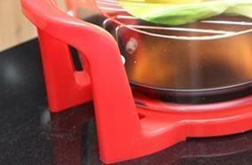 Khoang lò thủy tinh chịu nhiệt cùng chân đế cách nhiệt
