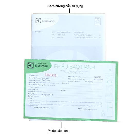 Bộ bán hàng chuẩn - Máy giặt  ELECTROLUX EWP85662  - 6.5 kg Lồng ngang