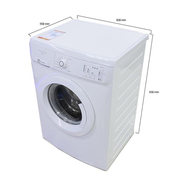 Kích thước - Máy giặt  ELECTROLUX EWP85662  - 6.5 kg Lồng ngang