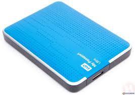 Ổ cứng di động WD 500Gb Passport Ultra 2.5 3.0 - Xanh