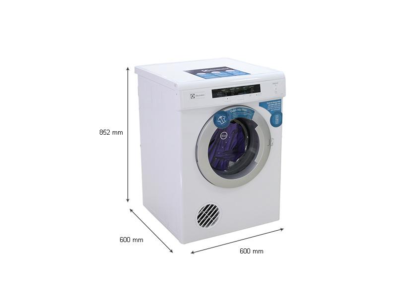 Kích thước - Máy sấy quần áo ELECTROLUX EDV7051 - 7.0kg