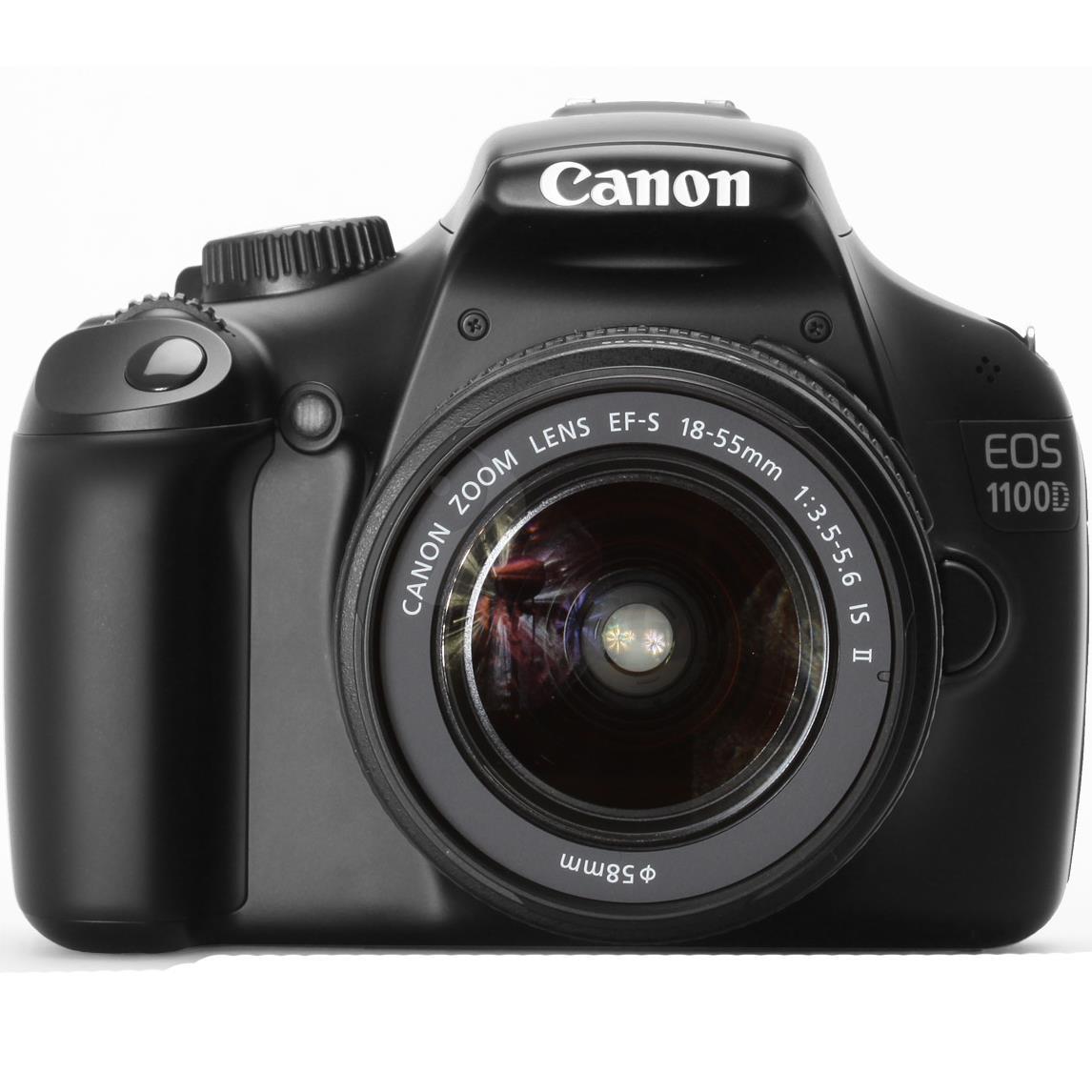 Máy ảnh Canon EOS1100 lens 18-55mm màu xám