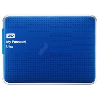 Ổ cứng di động 1TB WD Passport Ultra 2.5 3.0 - Xanh
