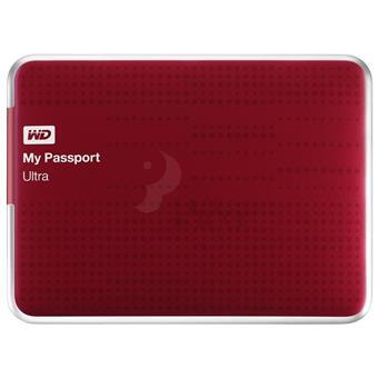 Ổ cứng di động WD 500GB Passport Ultra 2.5 3.0 - Đỏ