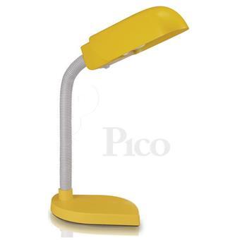 Đèn bàn Philips BILLY 69204YELLOW, bóng compact 11W, ánh sang trắng, màu vàng. Kèm bóng