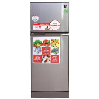 Tủ lạnh Sharp SJS210ESL - 196L màu bạc