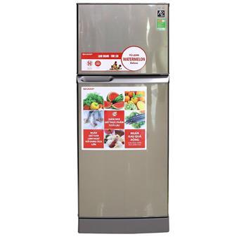 Tủ lạnh Sharp SJS210DSL - 196L màu bạc sẫm