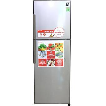 Tủ lạnh Sharp SJS240ESL - 241L màu bạc