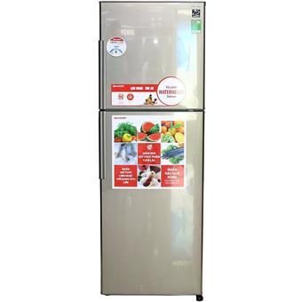 Tủ lạnh Sharp SJS240DSL - 241L màu bạc sẫm
