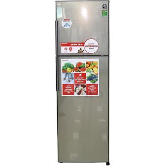 Tủ lạnh Sharp SJS270DSL - 274L màu bạc sẫm