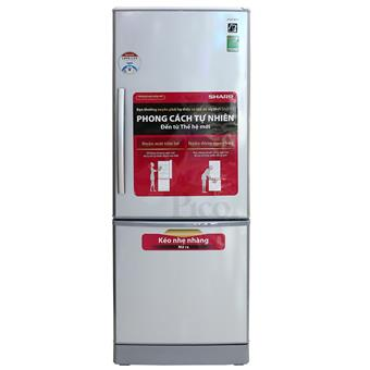 Tủ lạnh Sharp SJBS30EVSL - 290L màu bạc nhũ