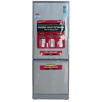Tủ lạnh Sharp SJBW30DVSL - 290L màu bạc sọc