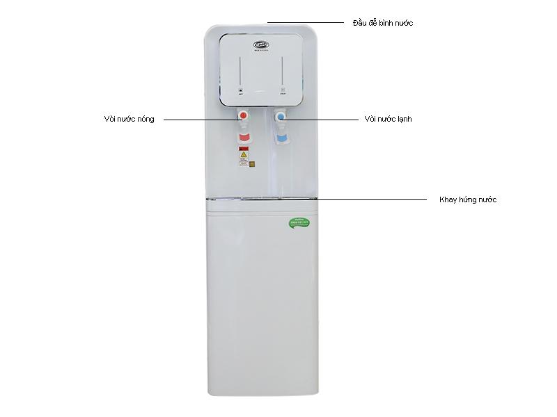 Cây nước nóng lạnh CNC816HC, màu trắng