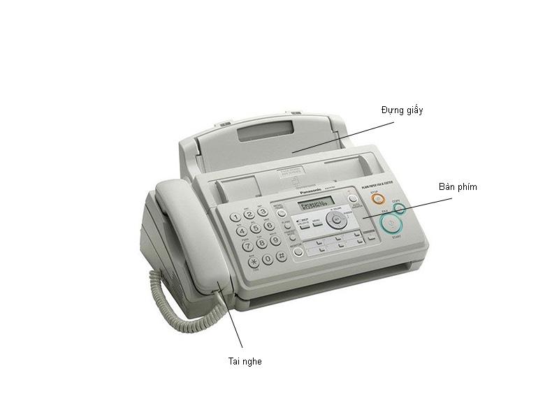 Máy fax in phim panasonic  KXFP701