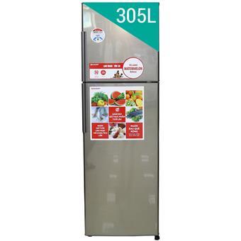 Tủ lạnh Sharp SJS310ESL - 305L - màu bạc