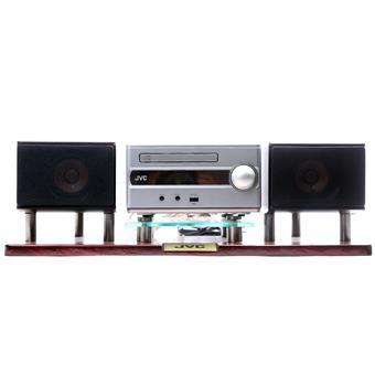 Dàn máy CD JVC EX-S1 HI-END Màng Loa Gỗ Sa-Kê + Kệ gỗ cao cấp JVC