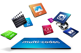 Truy cập các nội dung thông tin với các vi xử lý băng thông rộng codec
