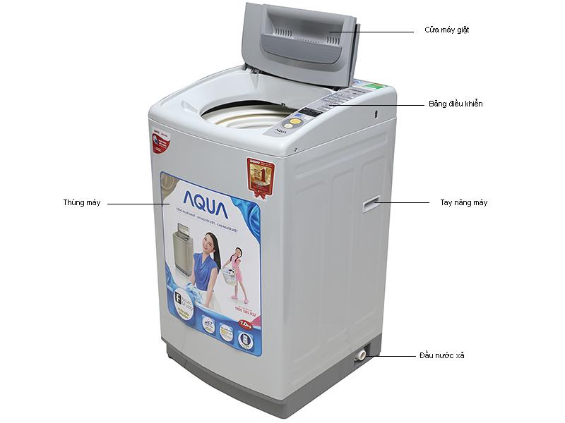Máy giặt Aqua AQWS70KT - 7 kg