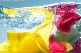 Khử trùng luồng nước giặt giũ