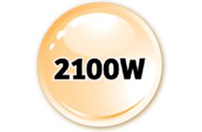 Công suất mạnh 2100W