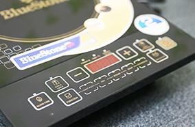 Bảng điều khiển cảm ứng hiện đại dễ sử dụng