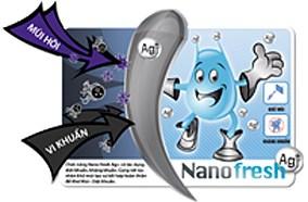 Khử mùi với công nghệ Nano Ag+