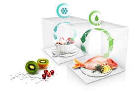 Bảo vệ thực phẩm với hệ thống làm lạnh xung quanh