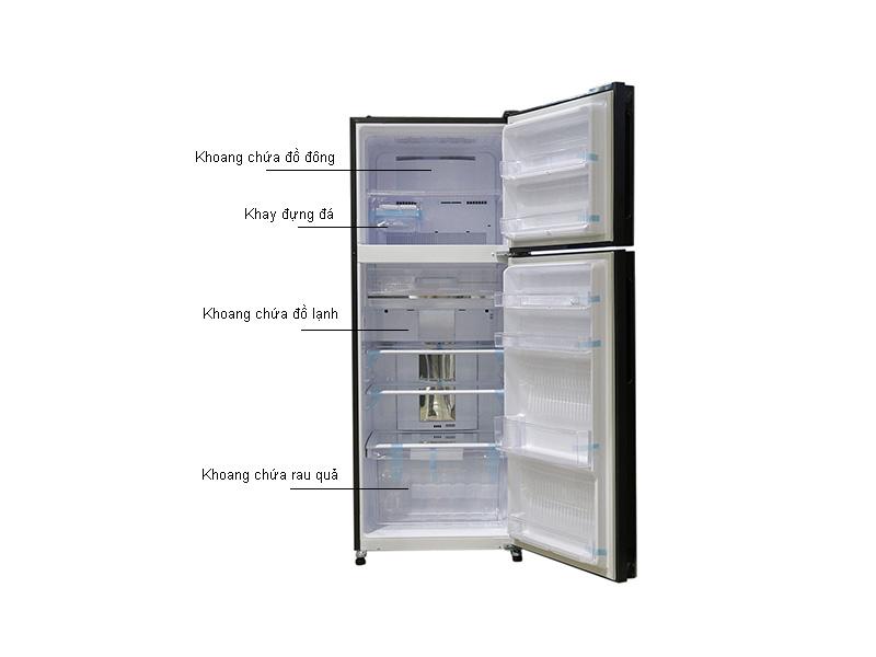 Tủ lạnh Sharp SJXP400PGBK - Inverter 400lít Màu gương đen