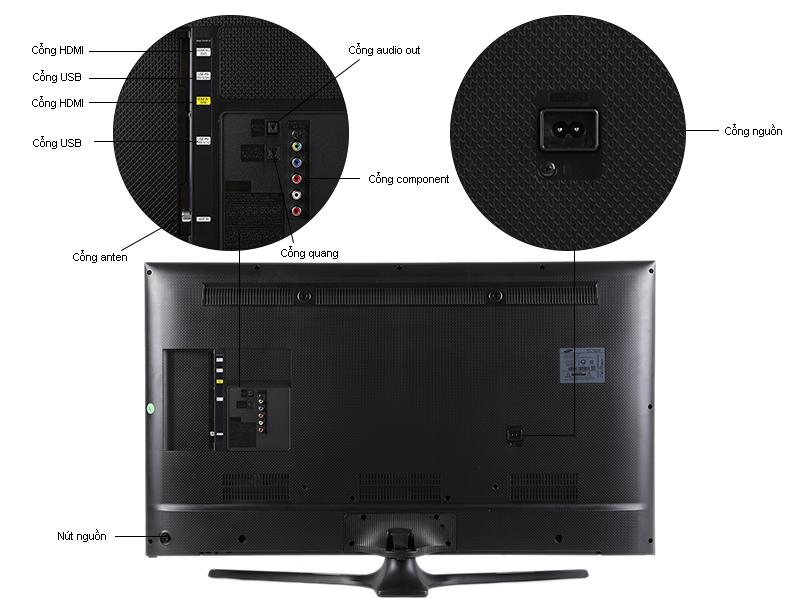 TIVI LED Samsung UA40J5100-40, Full HD 100Hz
