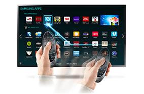 Điều khiển TV dễ dàng với điều khiển cảm ứng