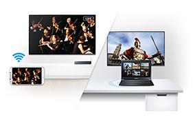 Kết nối thiết bị và nội dung cùng Smart View cập nhật